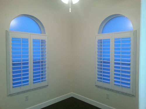 Vinyl Arched Window : Decorating shutters for arched windows inspiring