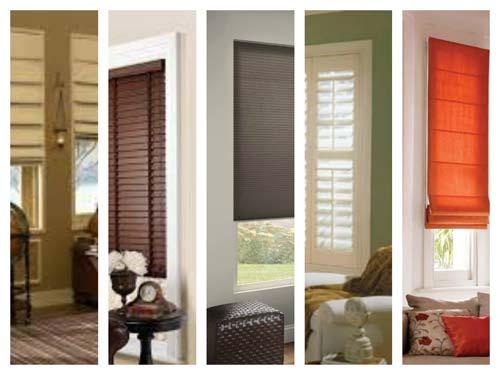 Plantation Shutters - Wood Blinds Window Shades